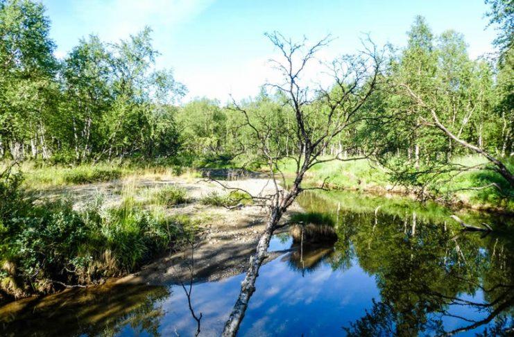 Poolcirkel rivier