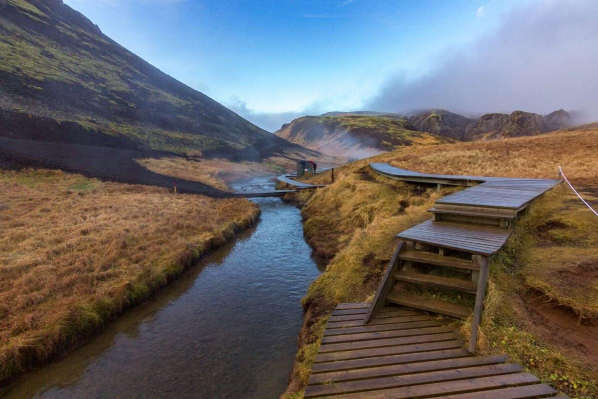Warm lekker op in de rivier en geniet ultiem relaxt van het landschap