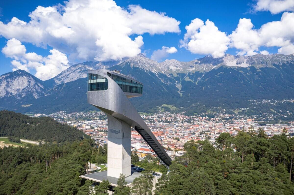 Bekijk de skischans van dichtbij © Innsbruck Tourismus / Tom Bause