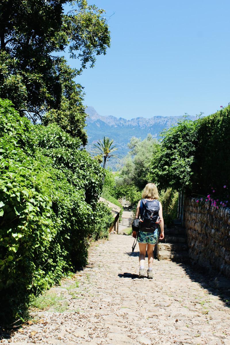 Mallorca staat begin juni prachtig in bloei. Foto: Pauline van der Waal