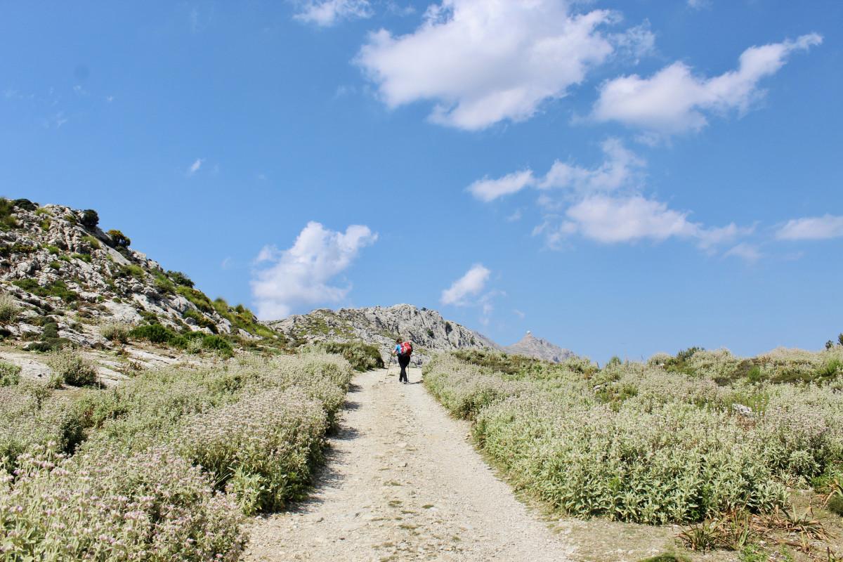 De GR221 is een prachtige en afwisselende tocht. Foto: Pauline van der Waal
