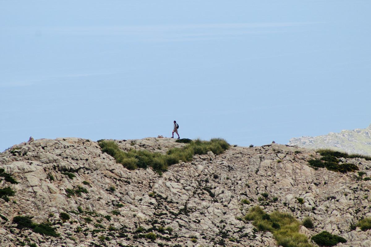 Rotsachtige wandeling. Foto: Pauline van der Waal