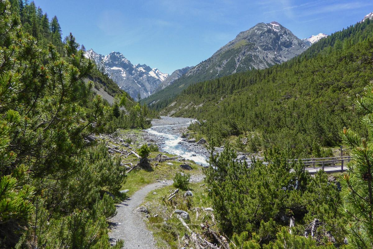 Zwitsers Nationaal Park Murtersattel
