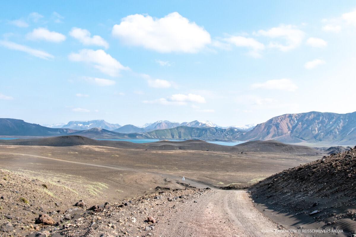 Een prachtige omweg naar onze eindbestemming. Foto: Edwin Hagenouw