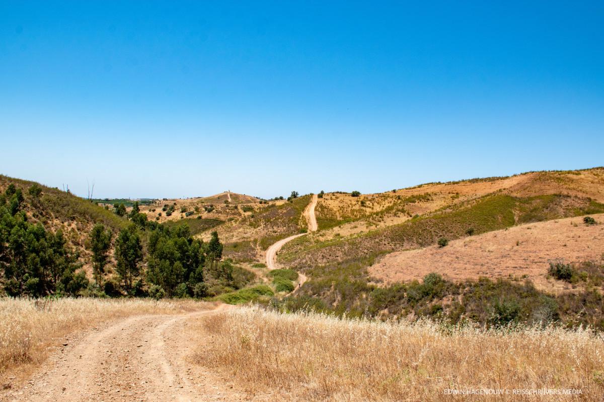 Mountainbiken op de Via Algarviana. Foto: Edwin Hagenouw