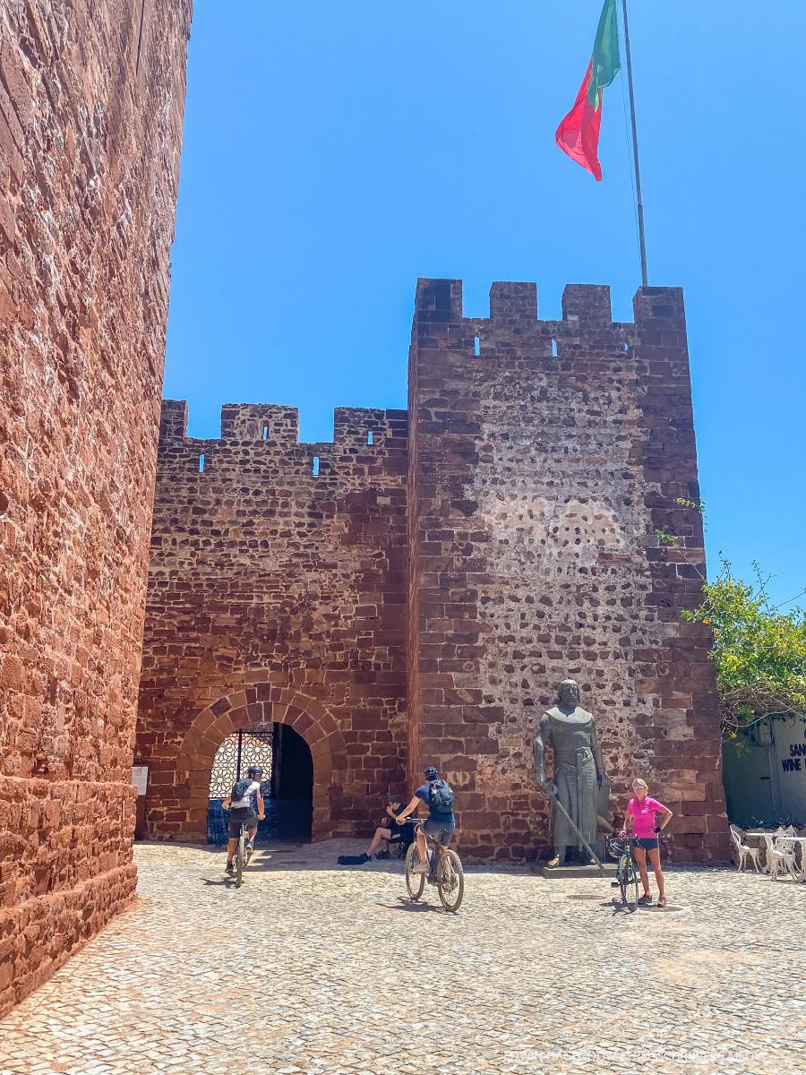 Het kasteel van Silves. Foto: Edwin Hagenouw