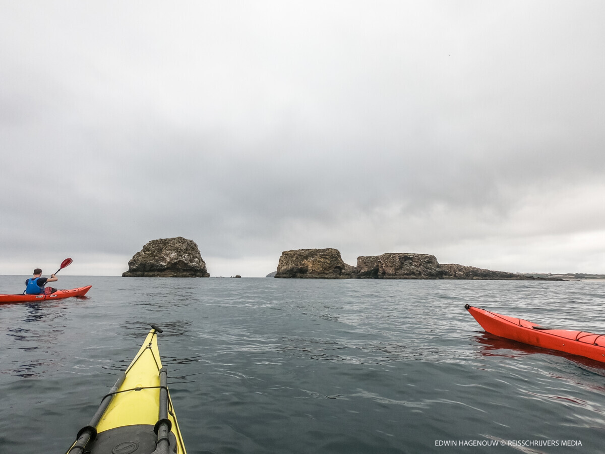 Zeekajakken. Foto: Mountainreporters