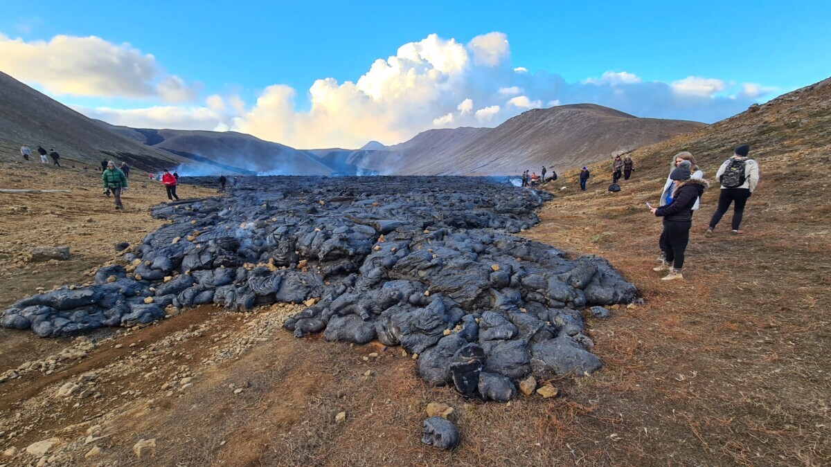 Fagradalsfjall vulkaan
