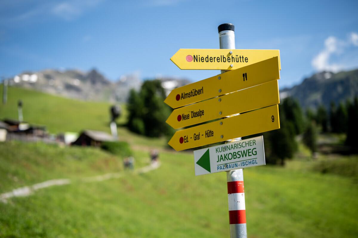 Wandelbordjes Tirol