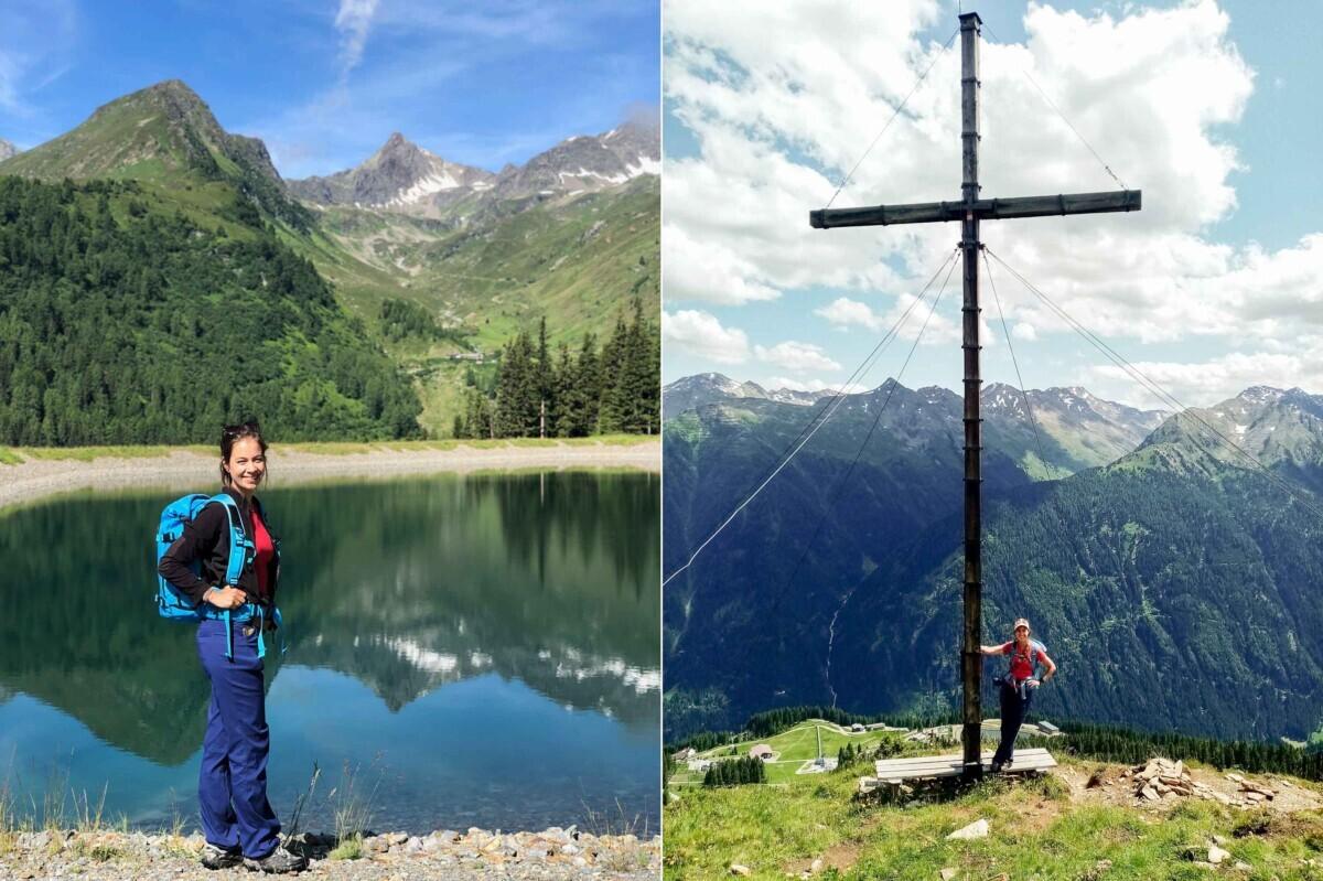 Manja Herrebrugh wandelaar bergen