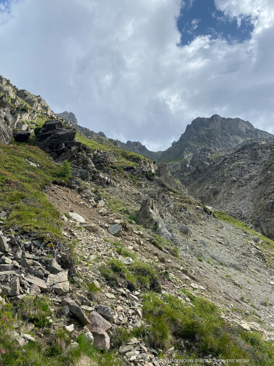 Sellrainer Höhenweg. Foto: Edwin Hagenouw