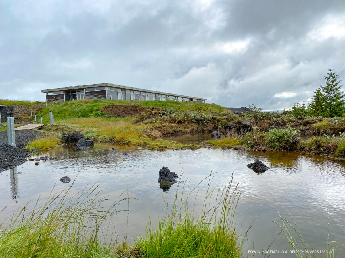 Duurzaam overnachten in Hotel 360 bij Selfoss. Foto: Edwin Hagenouw