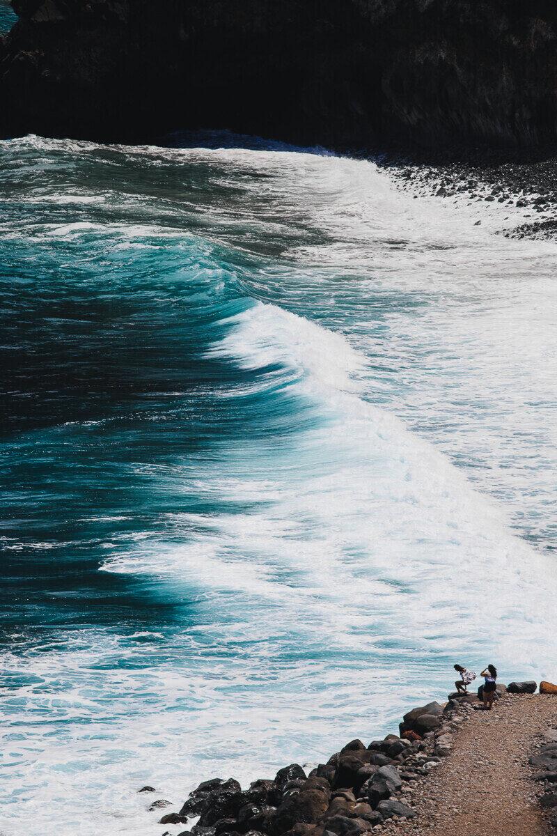 Madeira zee Miradouro do Guindaste