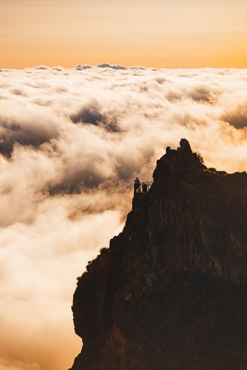 Pico do Arieiro uitzicht