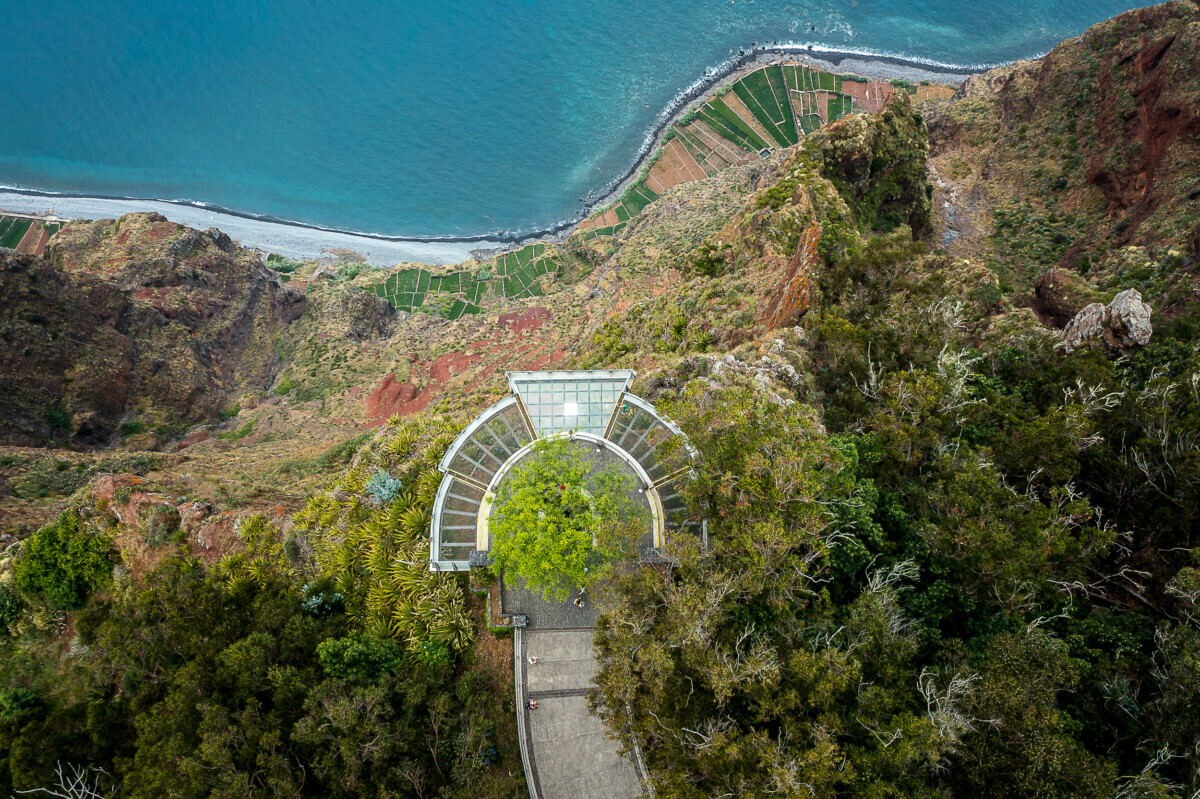 Cabo Girao glazen platform