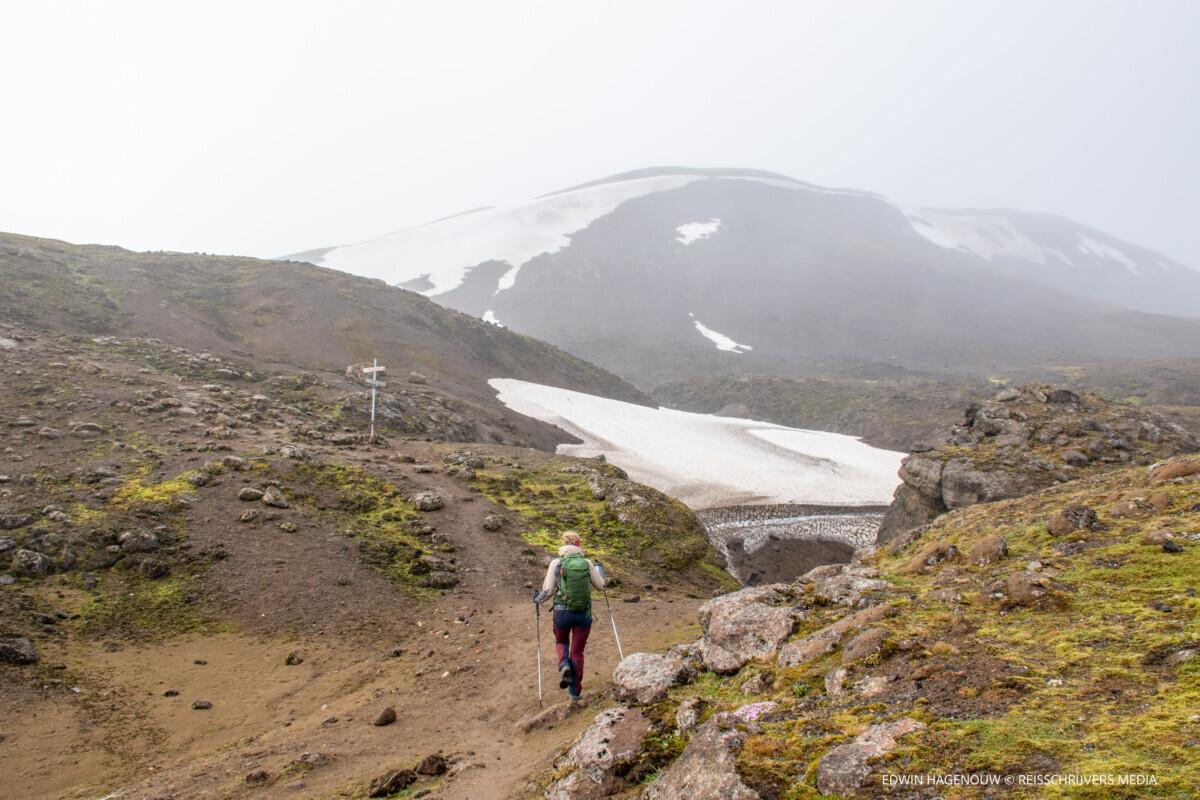 Onderweg naar Kerlingarfjöll. Foto: Edwin Hagenouw