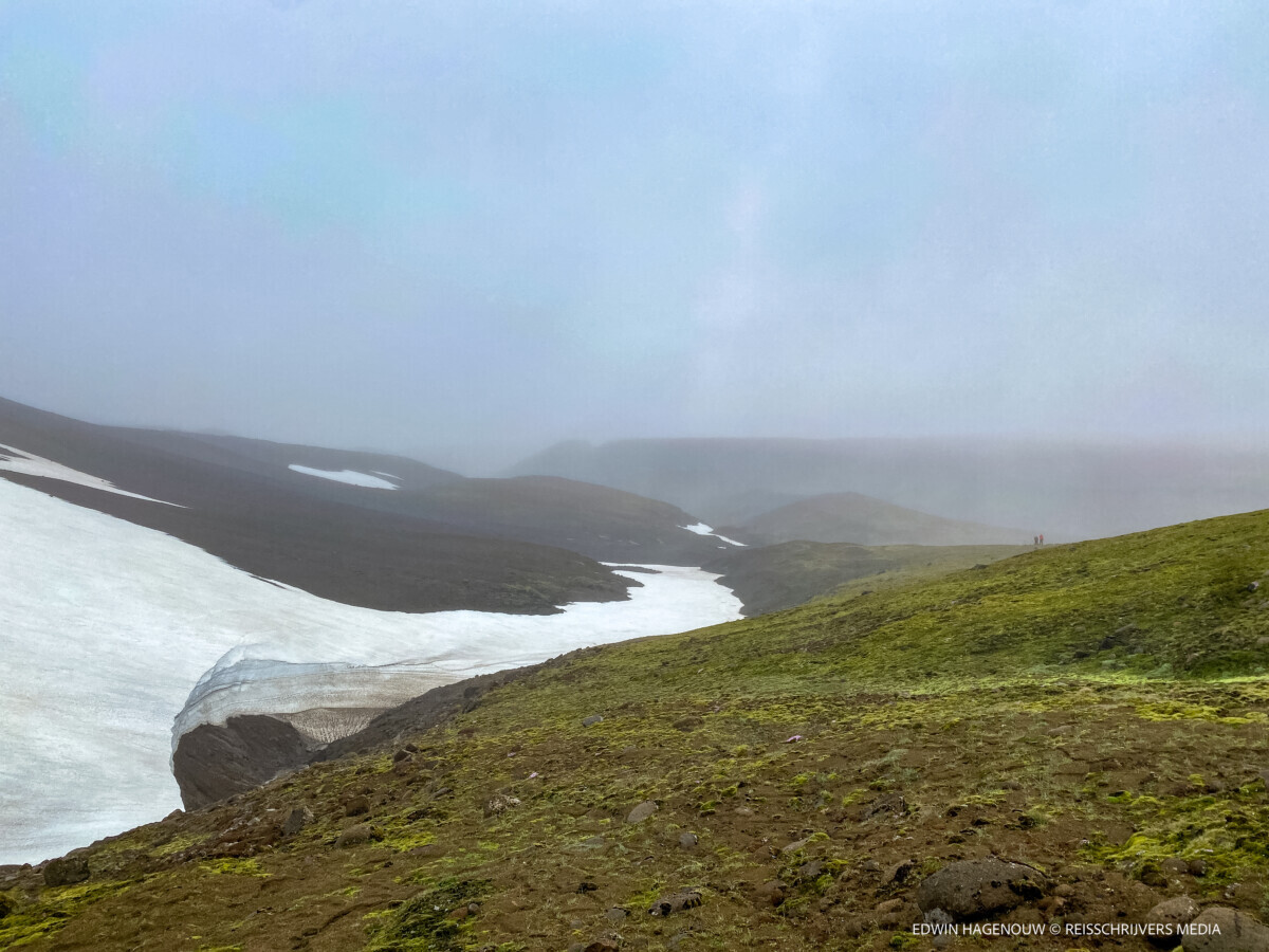 Steeds meer sneeuw en ijs. Foto: Edwin Hagenouw