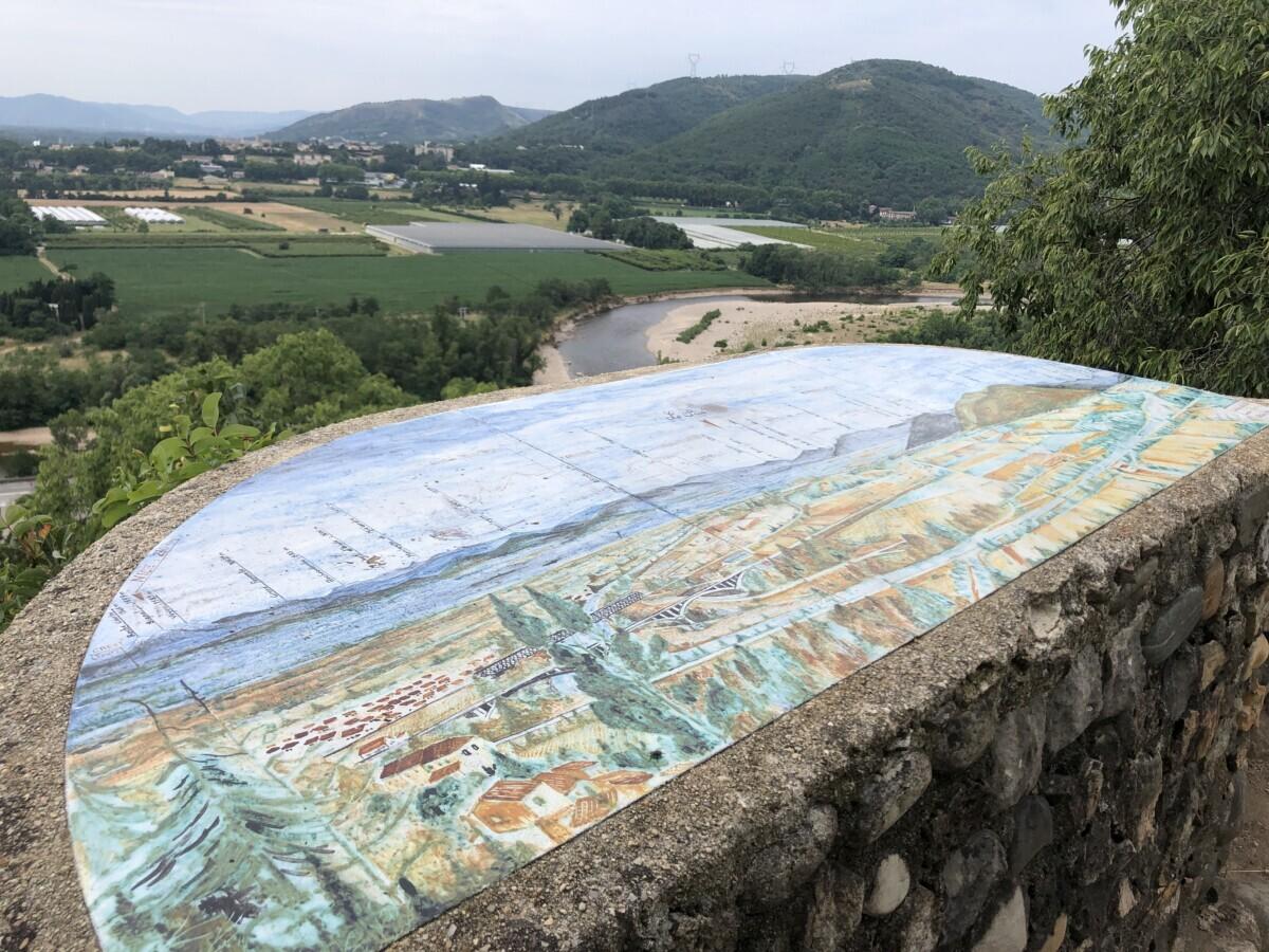 uitzicht Beauchastel