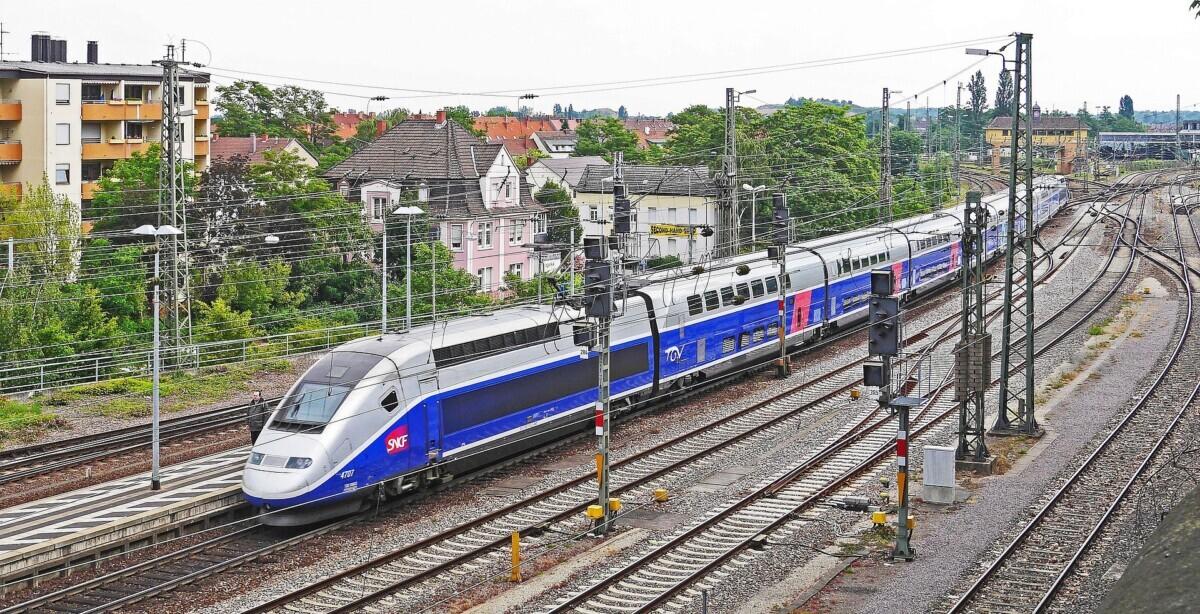 TGV bij Parijs