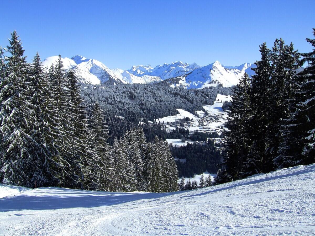 Morzine in de winter