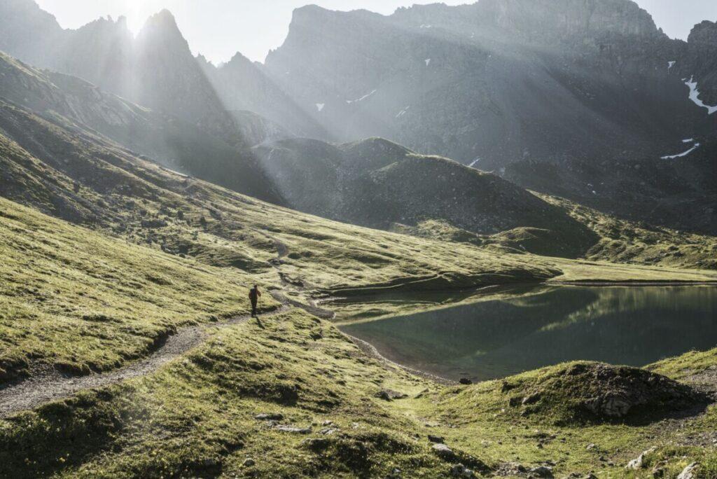 Lechtal, Lechtaler Höhenweg, Steinsee