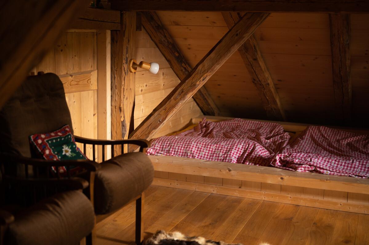 Bedden in refuge de Nyon