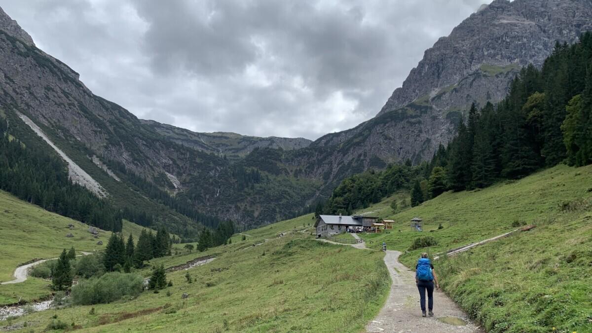 Gemsteltal Klein Walsertal