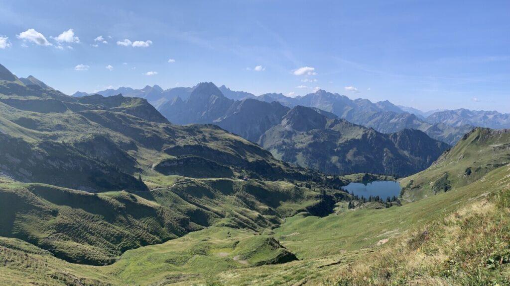 Seealpsee Oberstdorf Nebelhorn