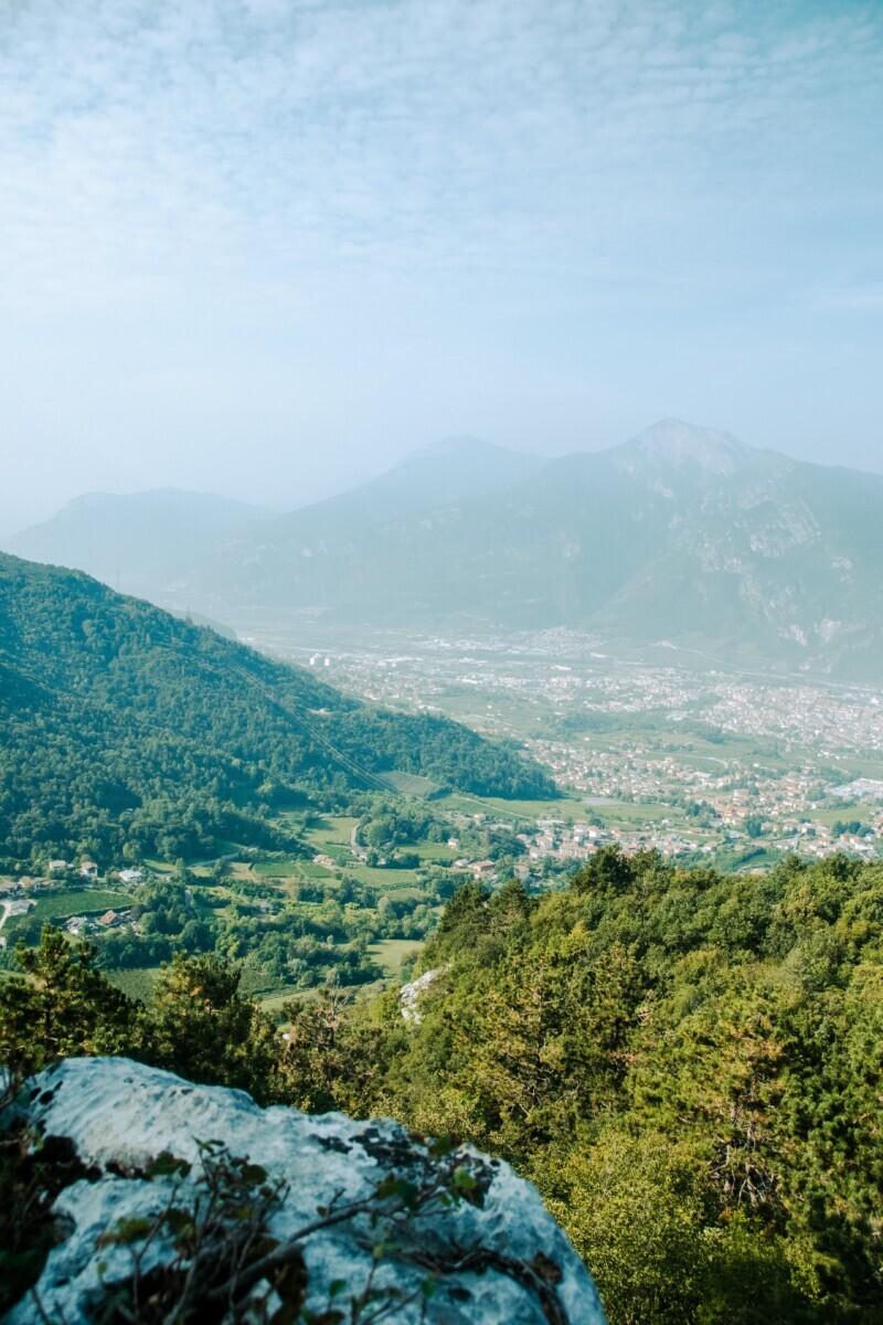 Uitzicht over Trento