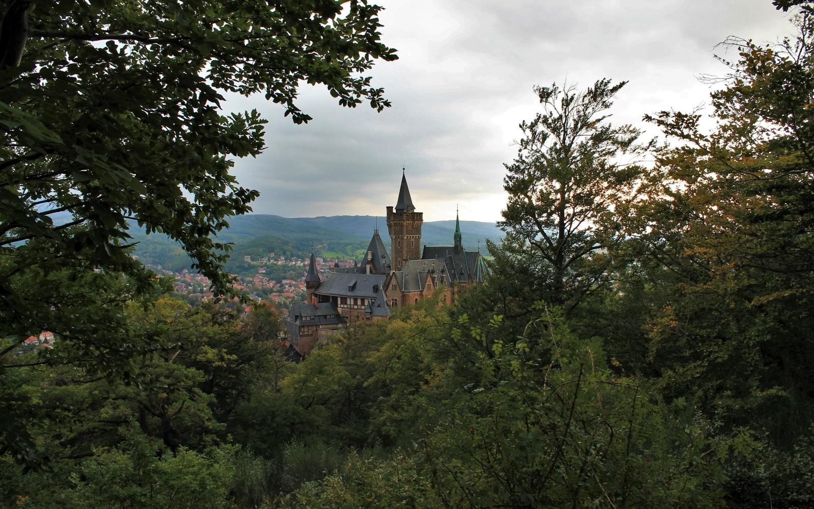 Het uitzichtpunt op de Agnesberg