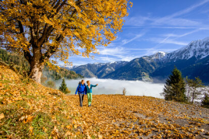Wandelen in de herfst. Foto: Gasteinertal Tourismus GmbH, Marktl (3)
