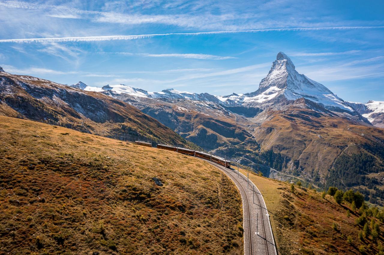 Zwitserland per spoor